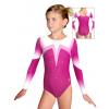 Gymnastický dres závodní D37d t120 růžová