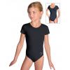 Gymnastický dres S37kk černý supplex