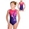 Gymnastický dres závodní D37r t110 fialovorůžová