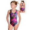 Dívčí sportovní plavky jednodílné PD623 v509