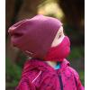Bavlněná rouška DVOUVRSTVÁ S KAPSOU růžová - pro děti (cca 3-12 let) - PRO OPAKOVANÉ POUŽITÍ