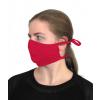 Bavlněná rouška DVOUVRSTVÁ S KAPSOU červená - pro dospělé - PRO OPAKOVANÉ POUŽITÍ
