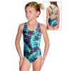 Dívčí sportovní plavky jednodílné PD623 v516
