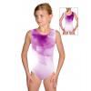Gymnastický dres závodní D37r t100 fialová