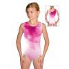 Gymnastický dres závodní D37r t100 růžová