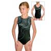 Gymnastický dres D37r t126 s tyrkysovou