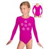 Gymnastický dres S37dg f71 tmavě růžový supplex