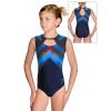 Gymnastický dres  D37r-66 t144 modročervená