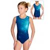 Gymnastický dres D37r t207 petrolejová