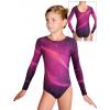 Gymnastický dres  D37d t152 fialovorůžová