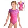 Gymnastický dres  D37kk t148 růžová