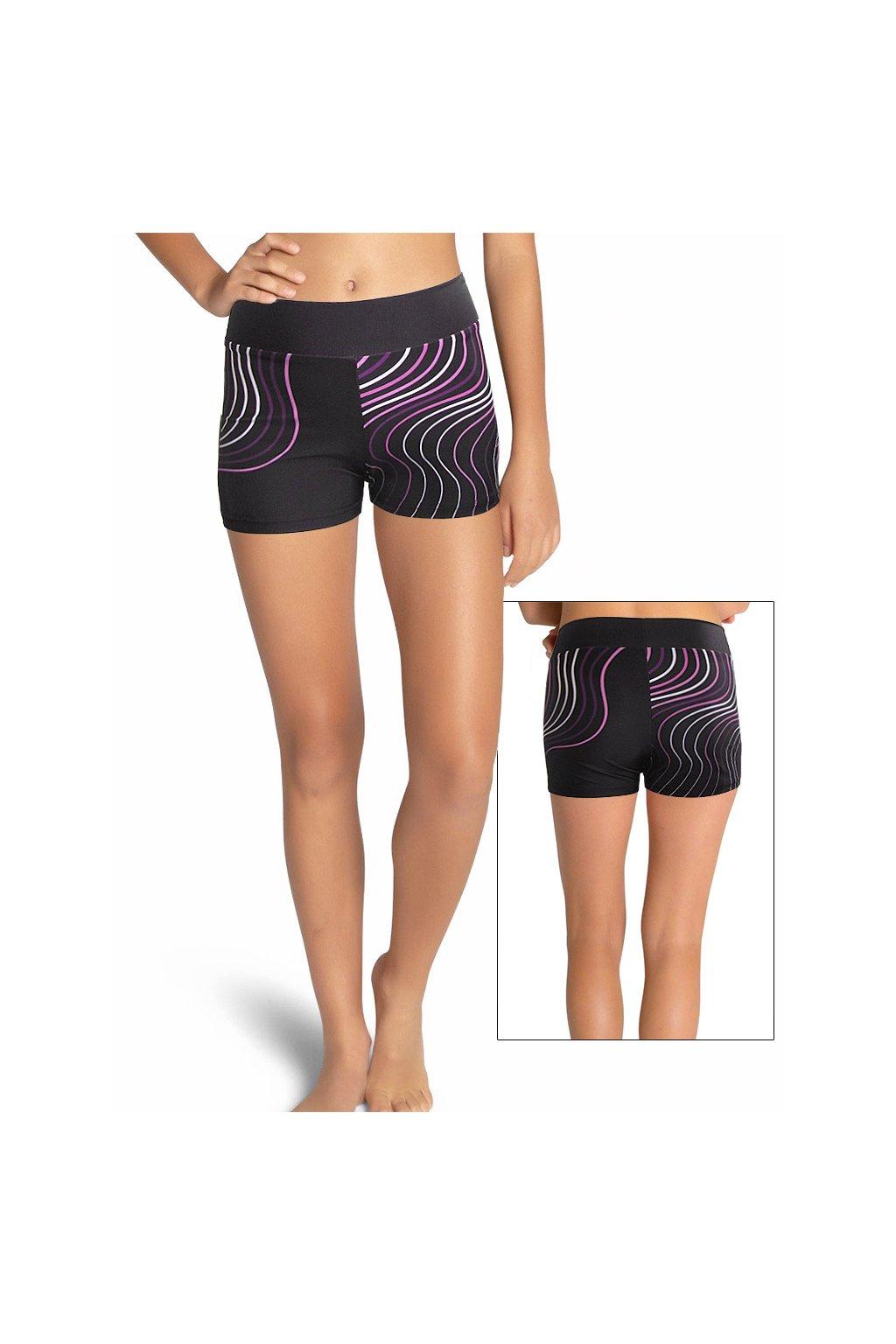 Funkční sportovní kraťasy - mini šortky - dámské a dívčí