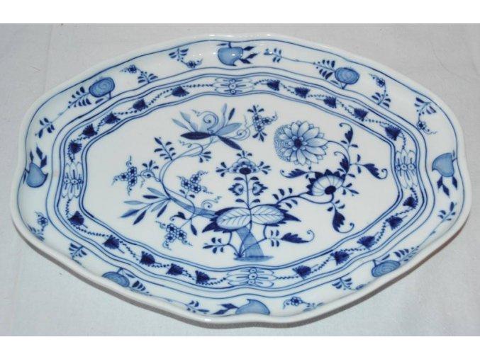 porcelánová mísa Míšeň (Meissen, Zwiebelmuster) 1-2