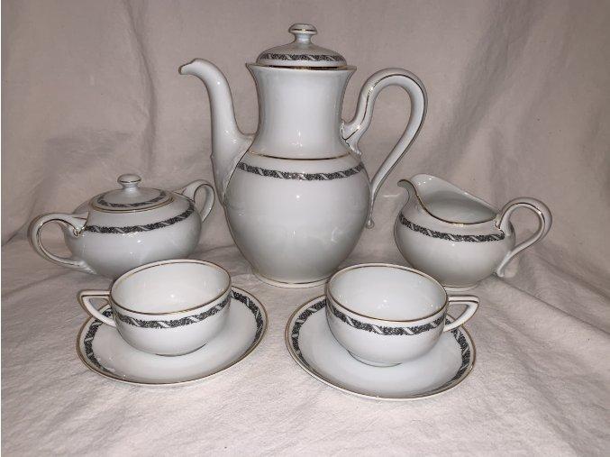 porcelánový mocca servis Rosenthal