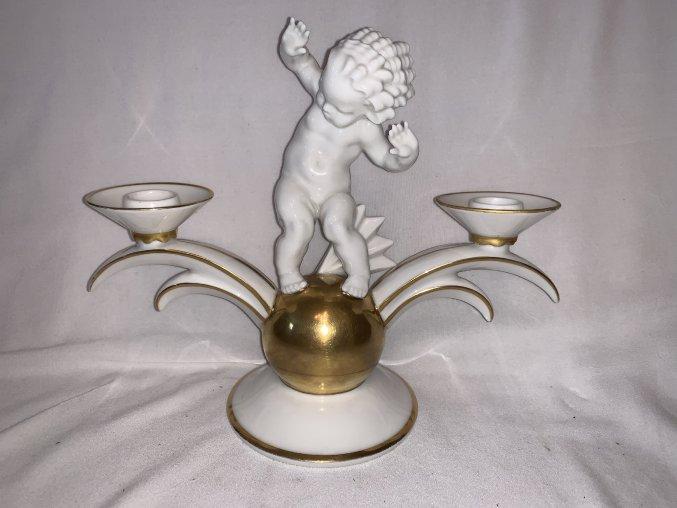 porcelánový svícen Hutschenreuther