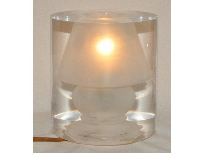 retro lampa, lampička 1-2