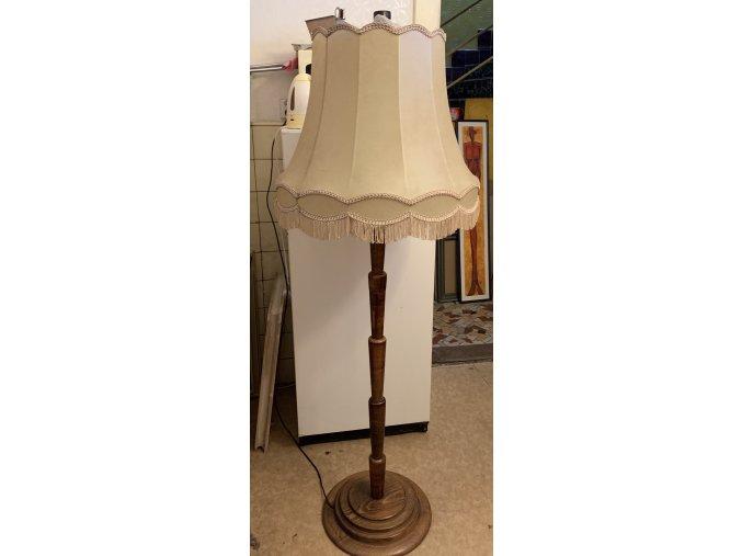 podlahová lampa art deco