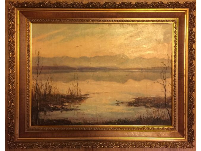 Commichau Armin: Pohled na jezero