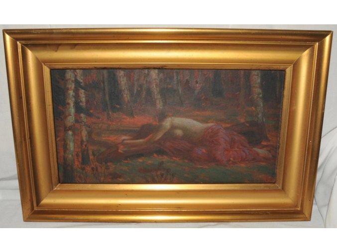 Jan Sojka: Z lesních pohádek, akt