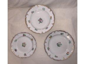 malované porcelánové talíře KPM