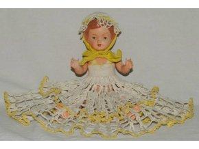 starožitná panenka, celuloid, Chemoplast