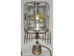 stolní lampa na koňském kopytu