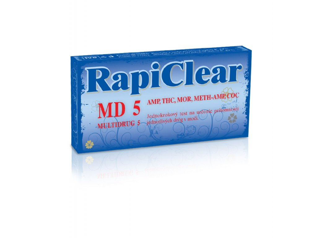 RapiClear MD5 Drogový test