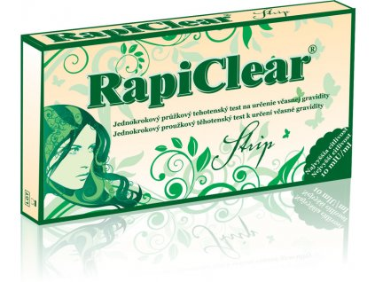 RapiClear Strip Tehotenský test