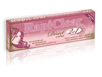 RapiClear Direct extra 2 v 1 Tehotenský test
