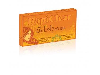 RapiClear 5 x LH strips Ovulačný test