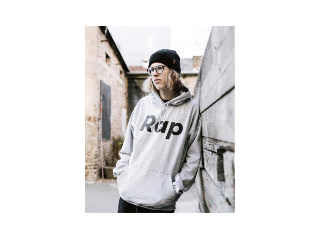 Sport grey / Black hoodie