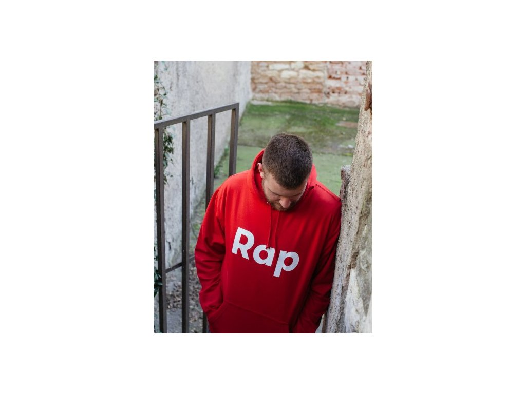 Red / White hoodie