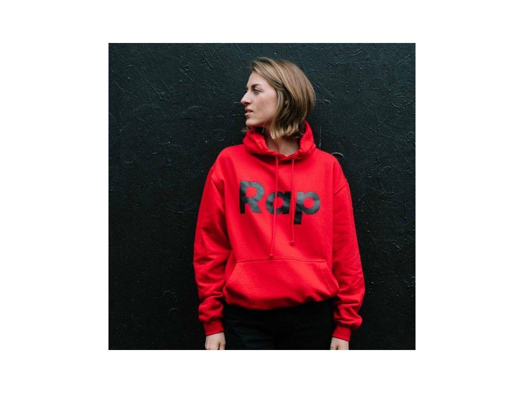 Red / Black hoodie