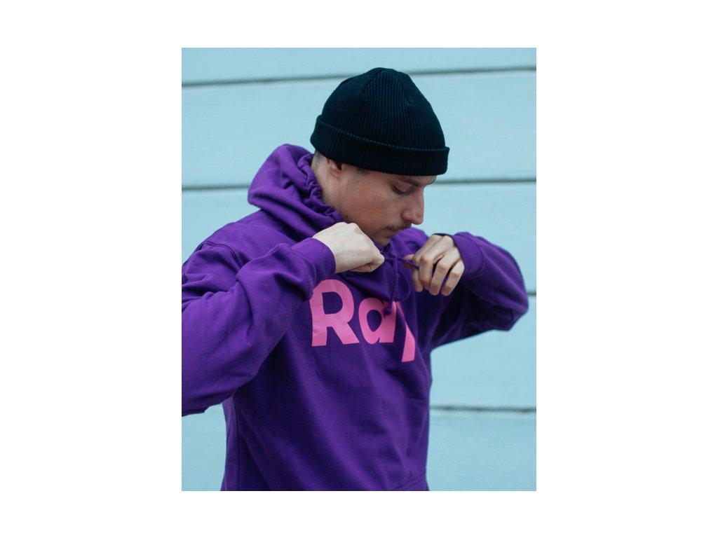 Purple / Magenta hoodie