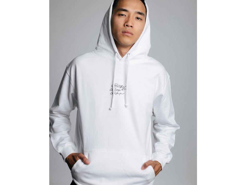 TAG White / Black hoodie
