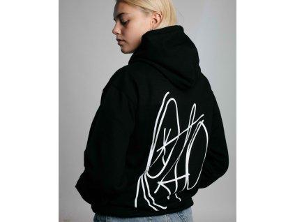TAG Black / White hoodie