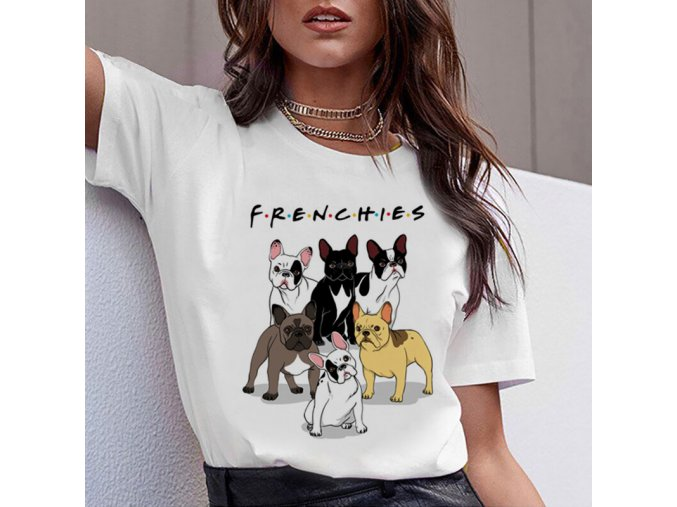 Triko buldoček frenchies! 1