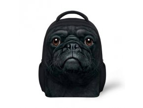 "Malý bag mopsík ""ALL BLACK"""