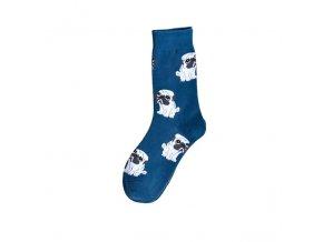 Ponožky s mopsím mimískem