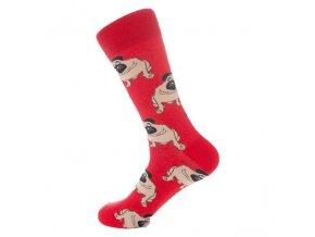 Ponožky s mopsoušem