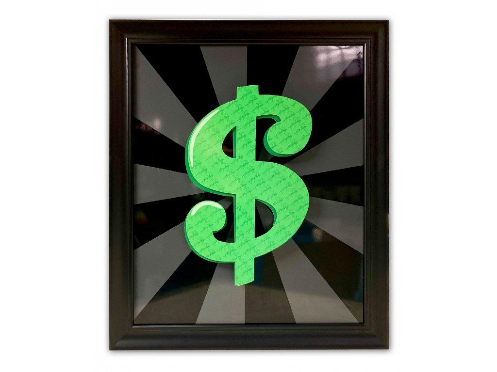 Dolar černy/šedý