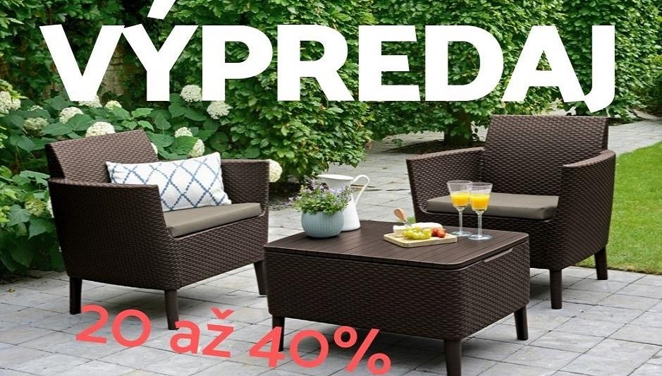 Výpredaj skladu, zľavy na vybrané produkty 20 až 40%