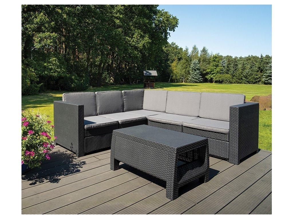 rohova sedacia zahradna suprava ravena antracitova ratanea.sk