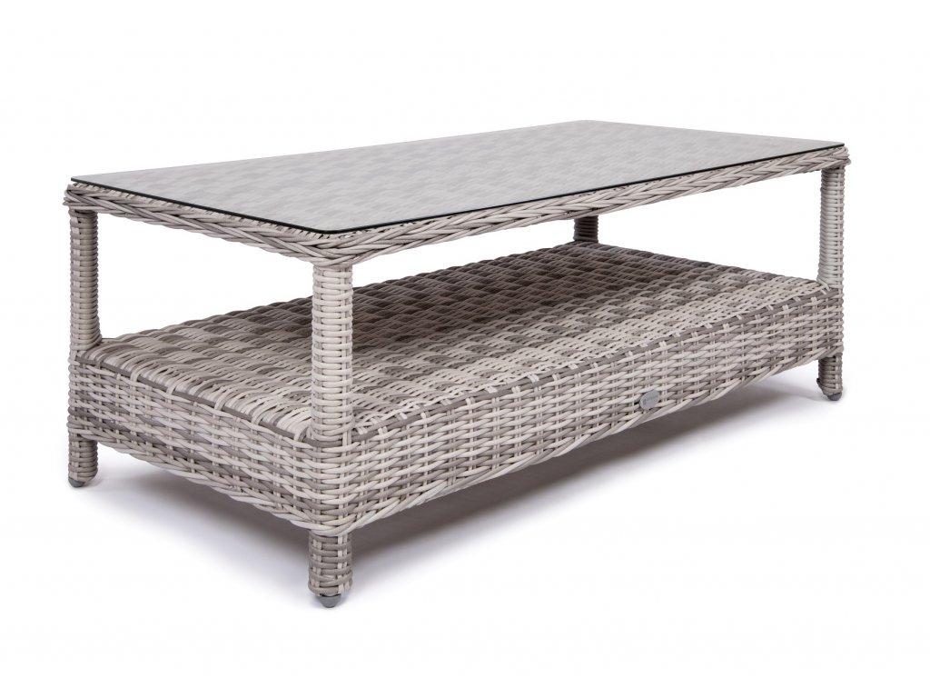 záhradný ratanový konferenčný stolík SANTIAGO BERKLEY SAVANA tmavosivý antracit ratanea.sk