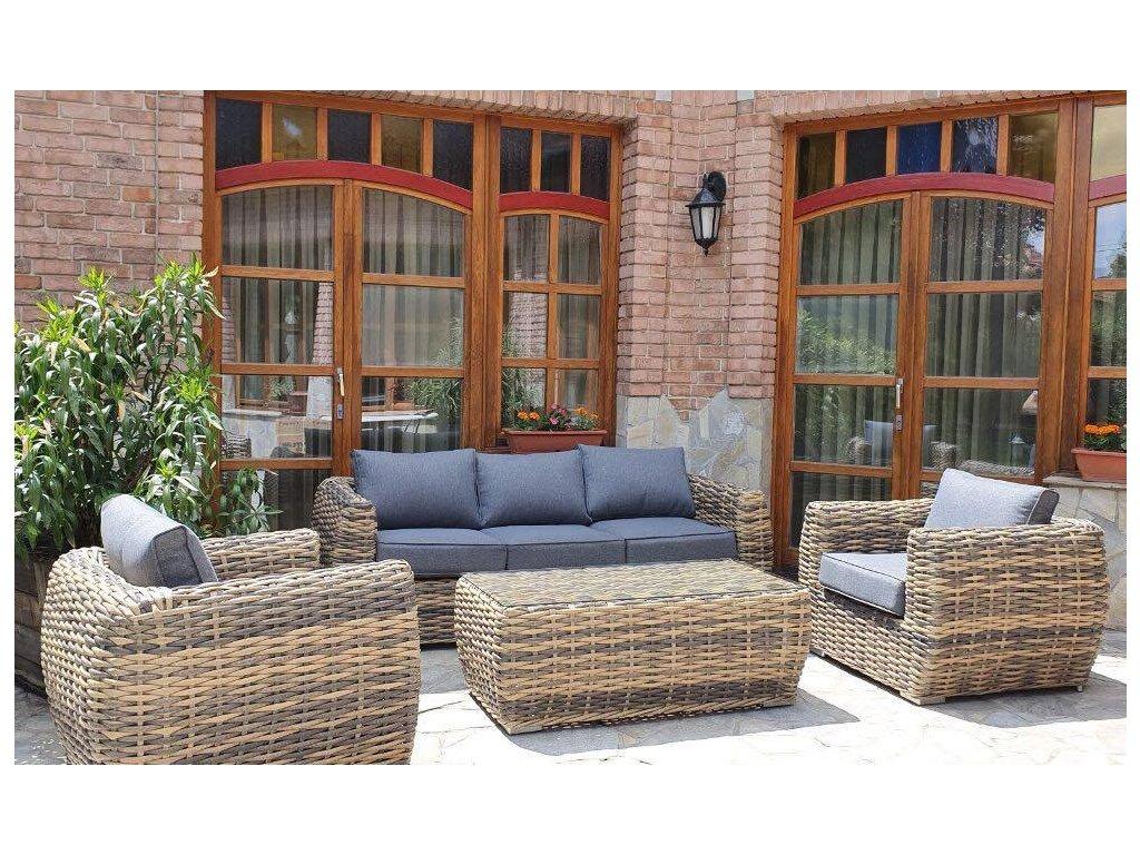 Záhradný ratanový nábytok MONACO