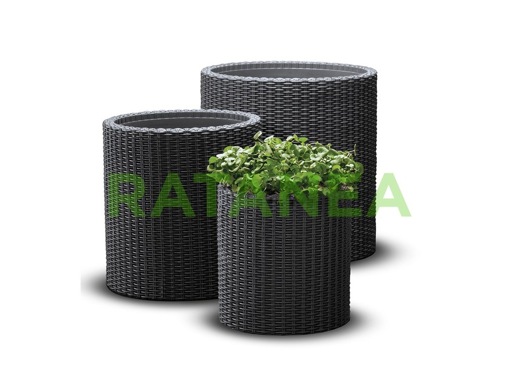 Ratanový kvetináč S+M+L ratanea.sk