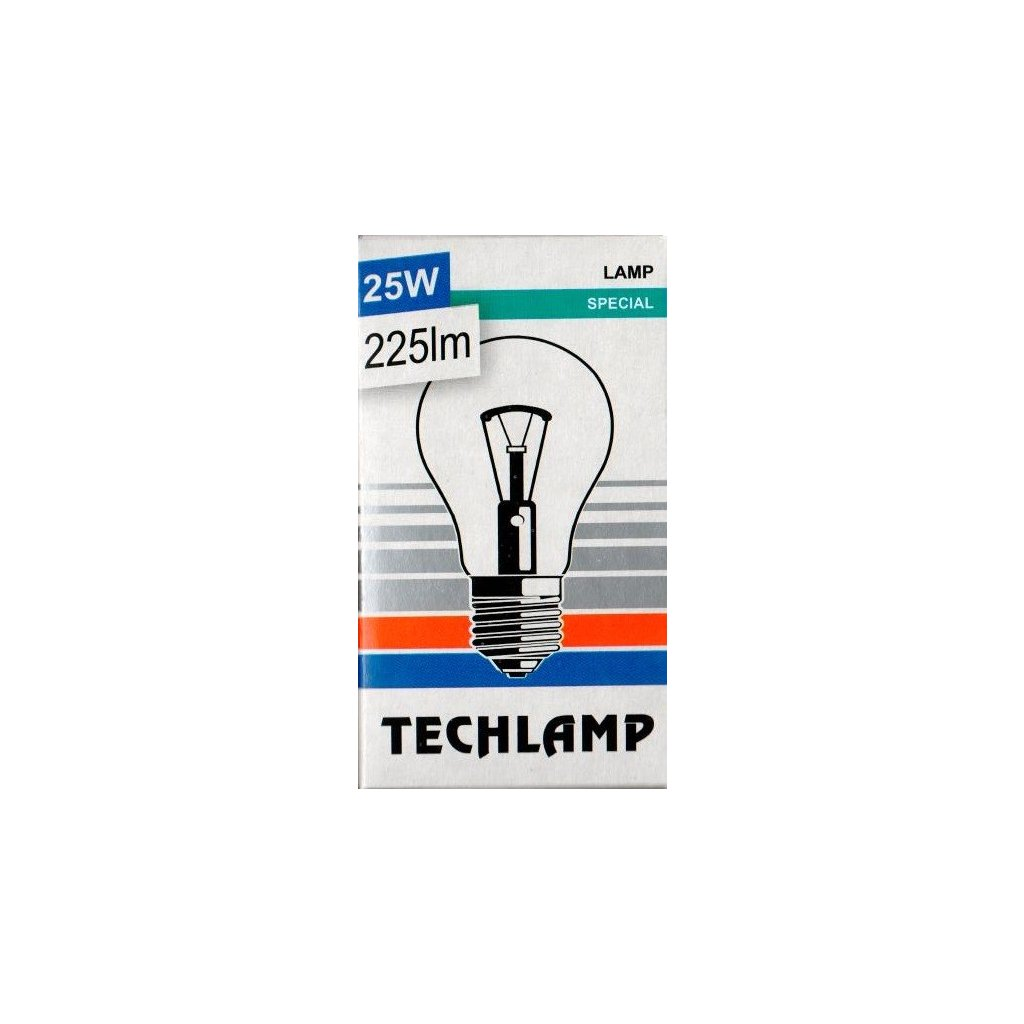 zarovka techlamp cira 25w e27 240v a55