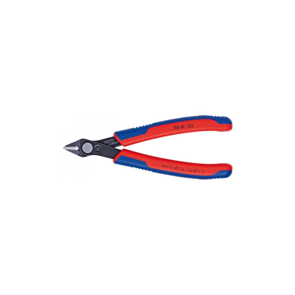 bocni stipaci kleste 125 mm electronic super knips knipex 7861 125