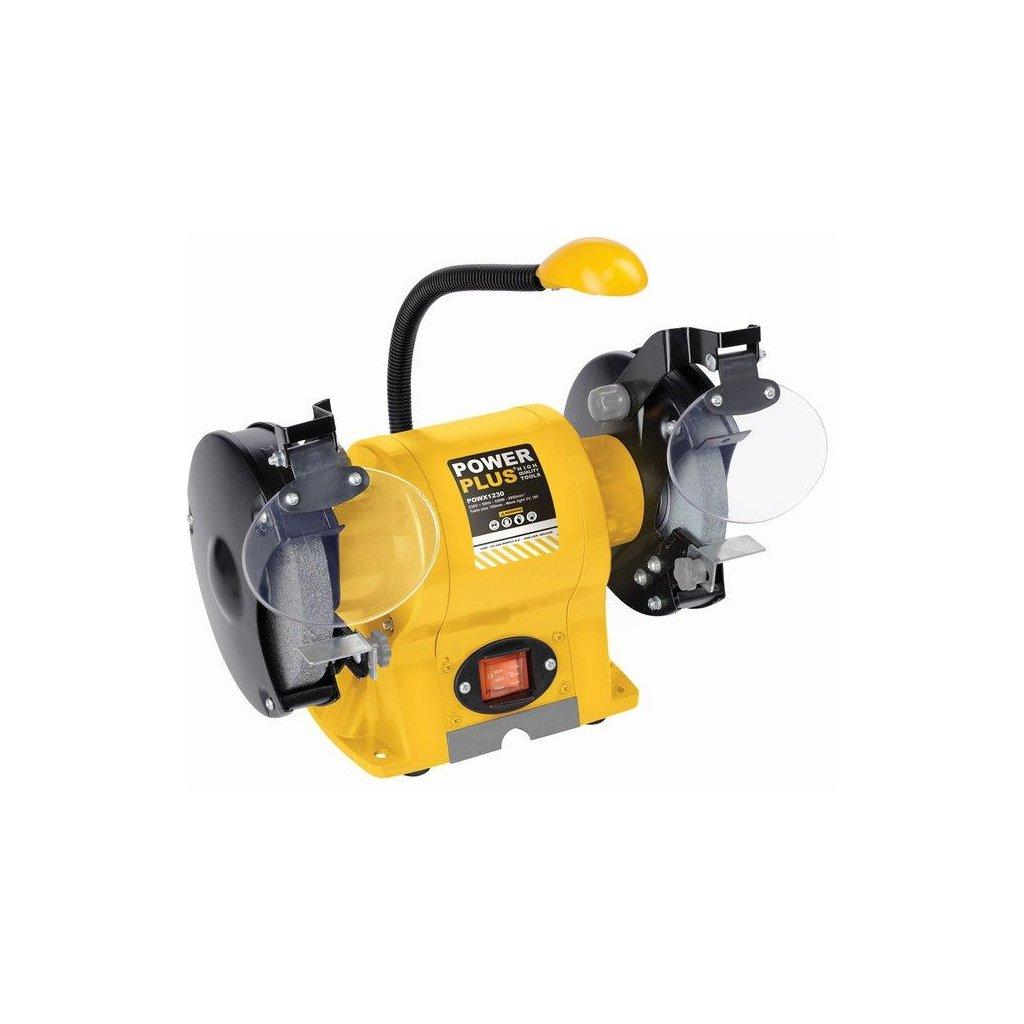powx1230 dvoukotoucova bruska 350 w powerplus 1