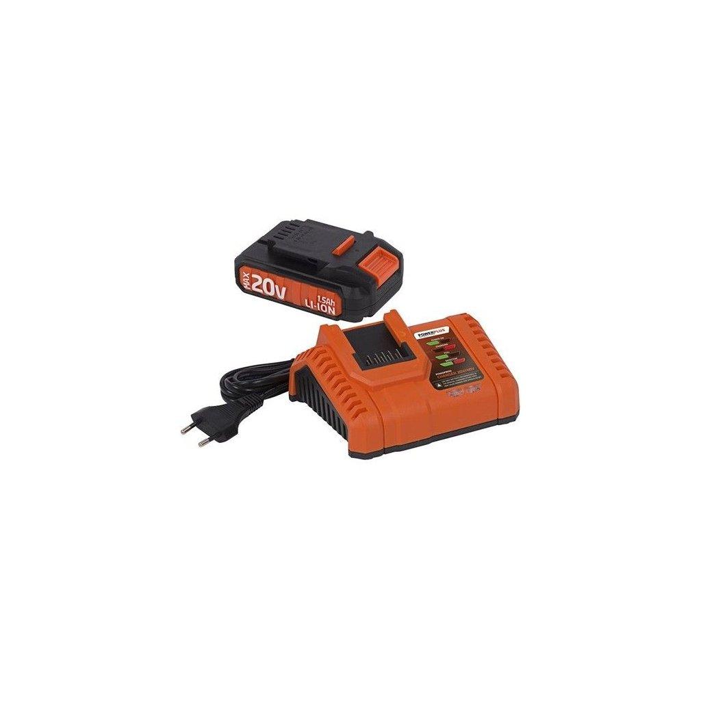 20v battery charger powdp3510 lithium batteries powerplus